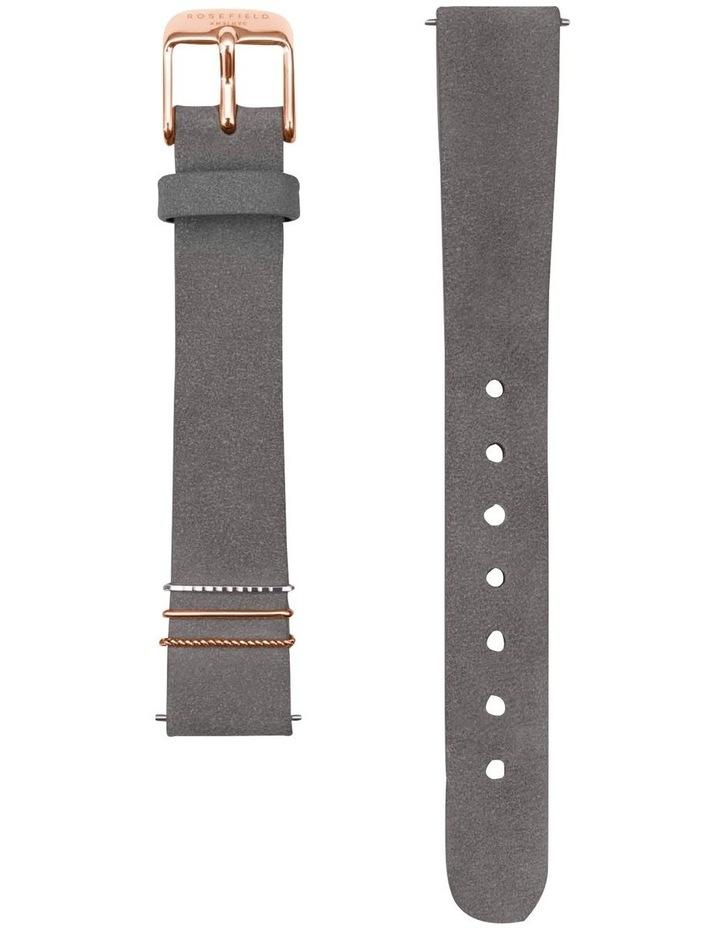 Rosefield QWGR-Q037 Mini Boxy Grey Watch image 2
