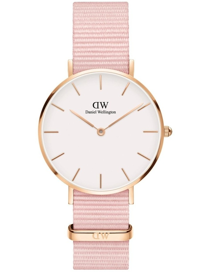 Petite 32 Rosewater Rose Gold White Watch image 1