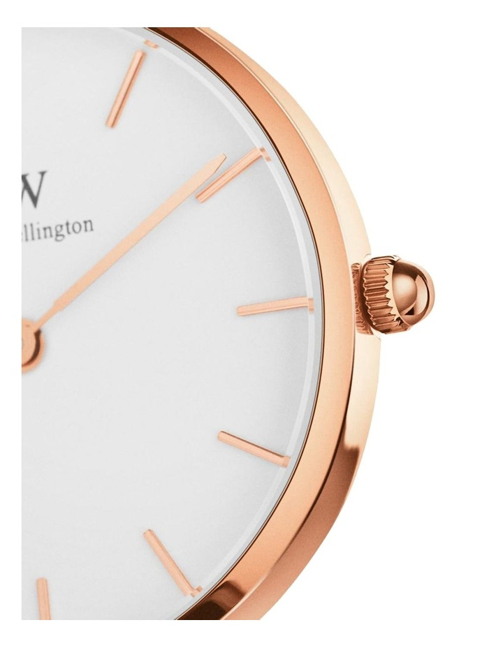Petite 32 Rosewater Rose Gold White Watch image 2