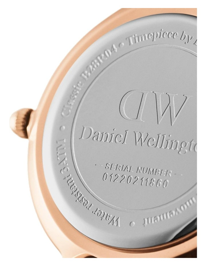 Petite 32 Rosewater Rose Gold White Watch image 3