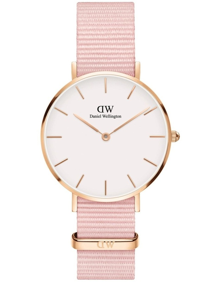 Petite 28 Rosewater Rose Gold White Watch image 1