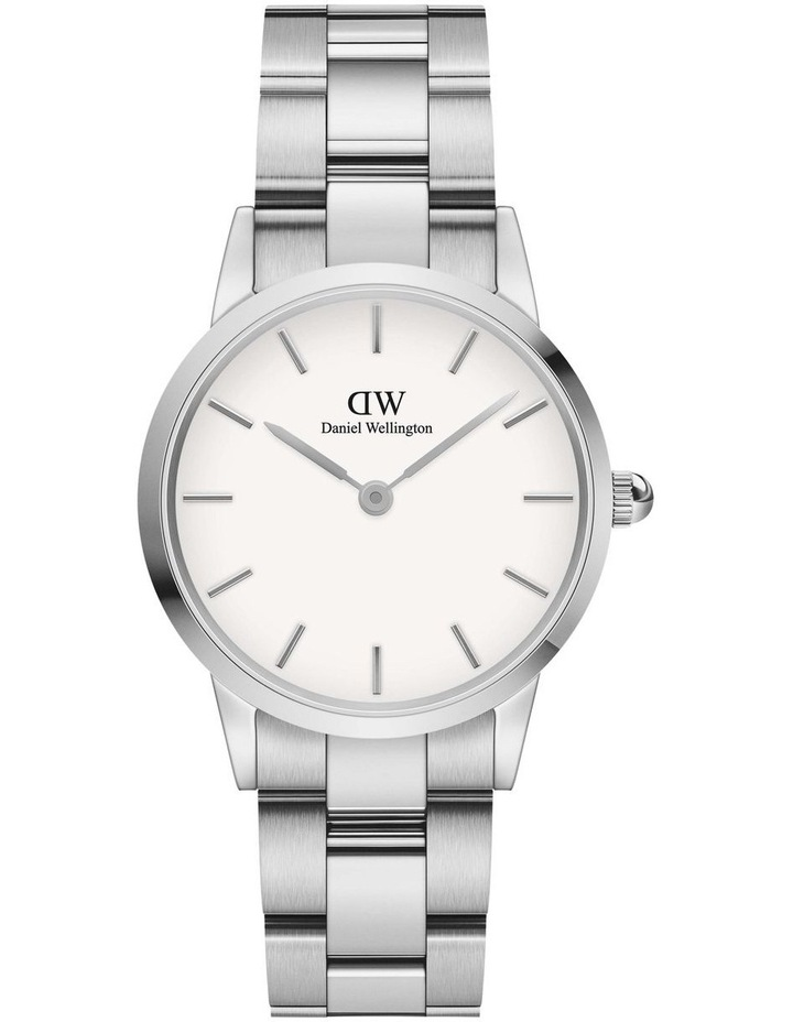 Iconic Link 28 Silver/White Watch image 1