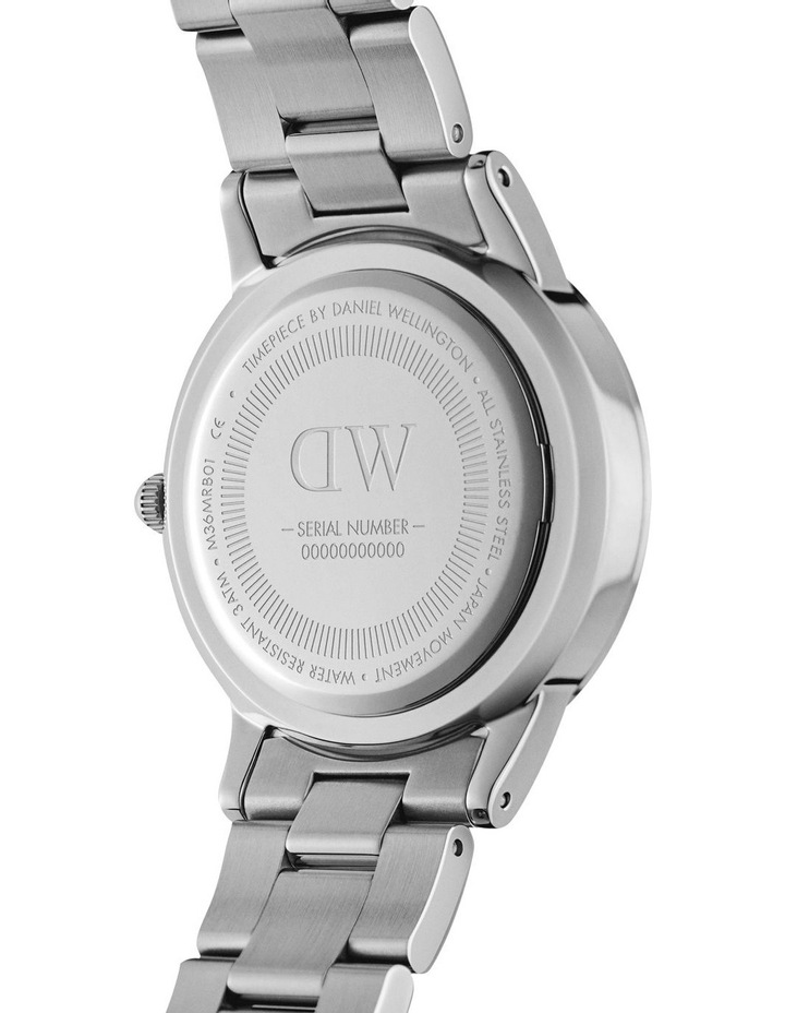 Iconic Link 28 Silver/White Watch image 4