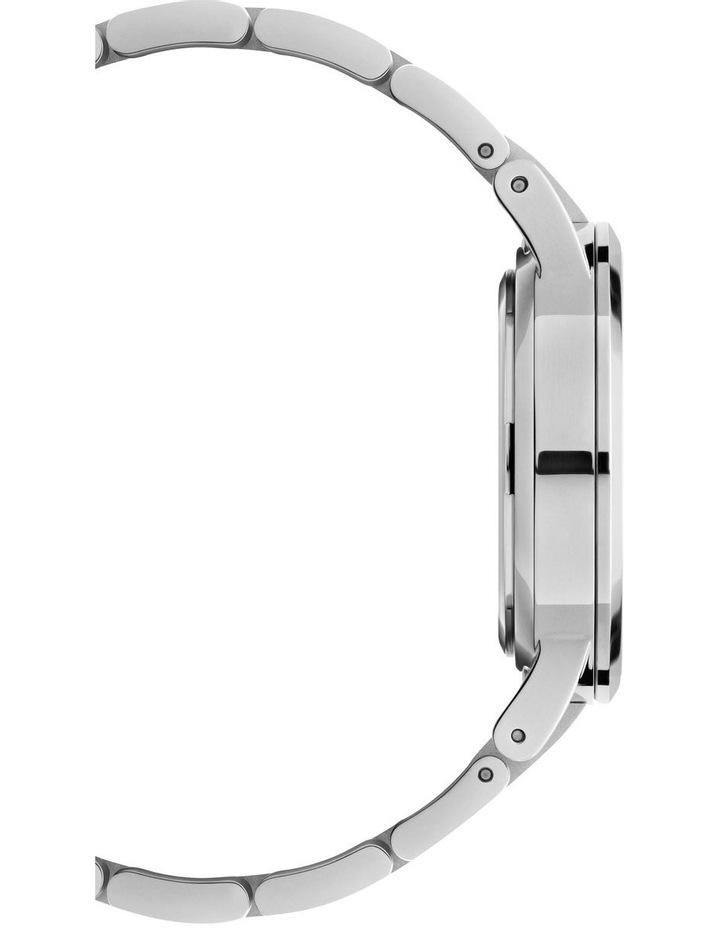 Iconic Link 28 Silver/Black Watch image 5