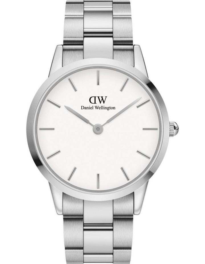 Iconic Link 40 Silver/White Watch image 1