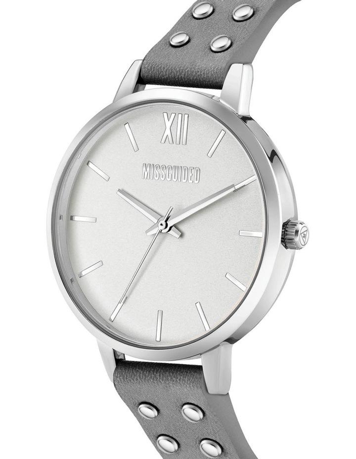MG043E Grey PU Watch image 2