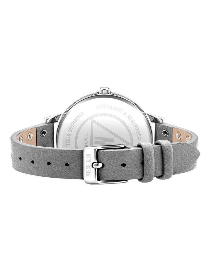 MG043E Grey PU Watch image 3