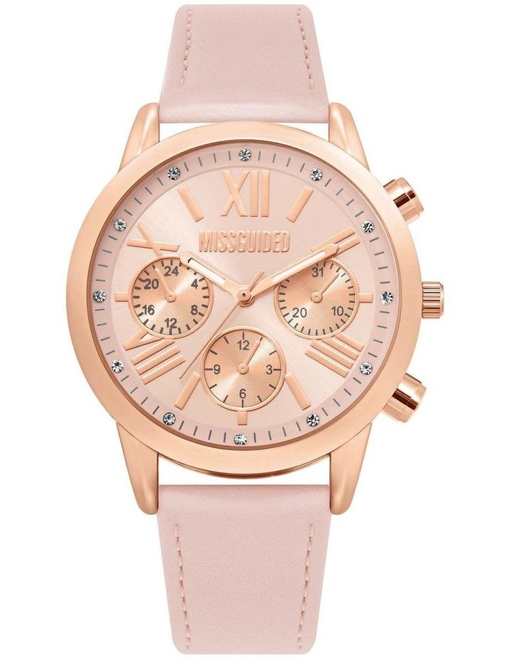 MG019PRG Pink PU Watch image 1