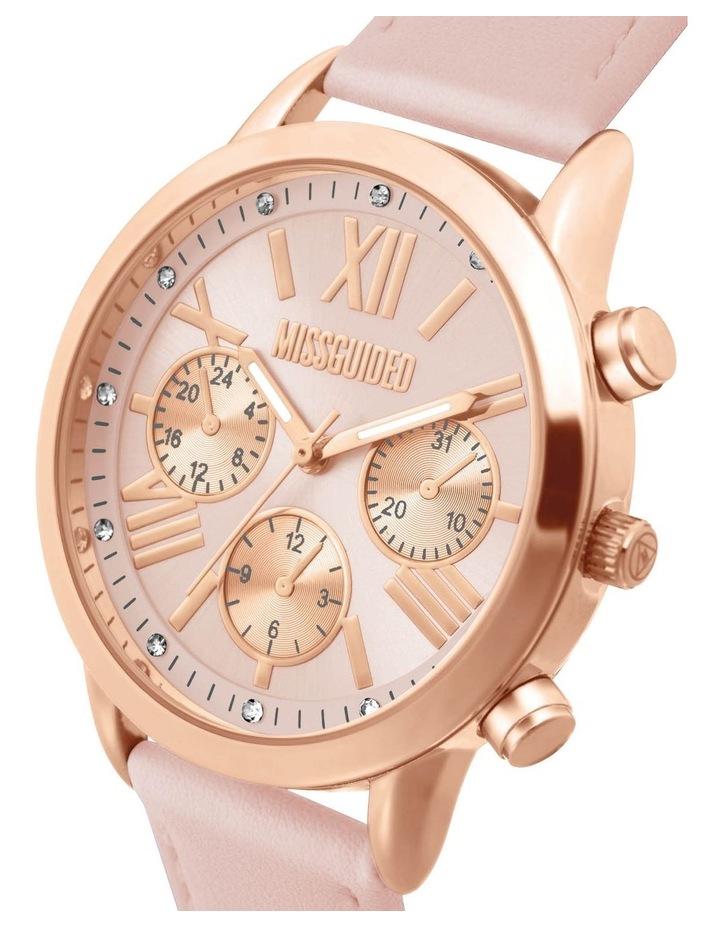 MG019PRG Pink PU Watch image 2