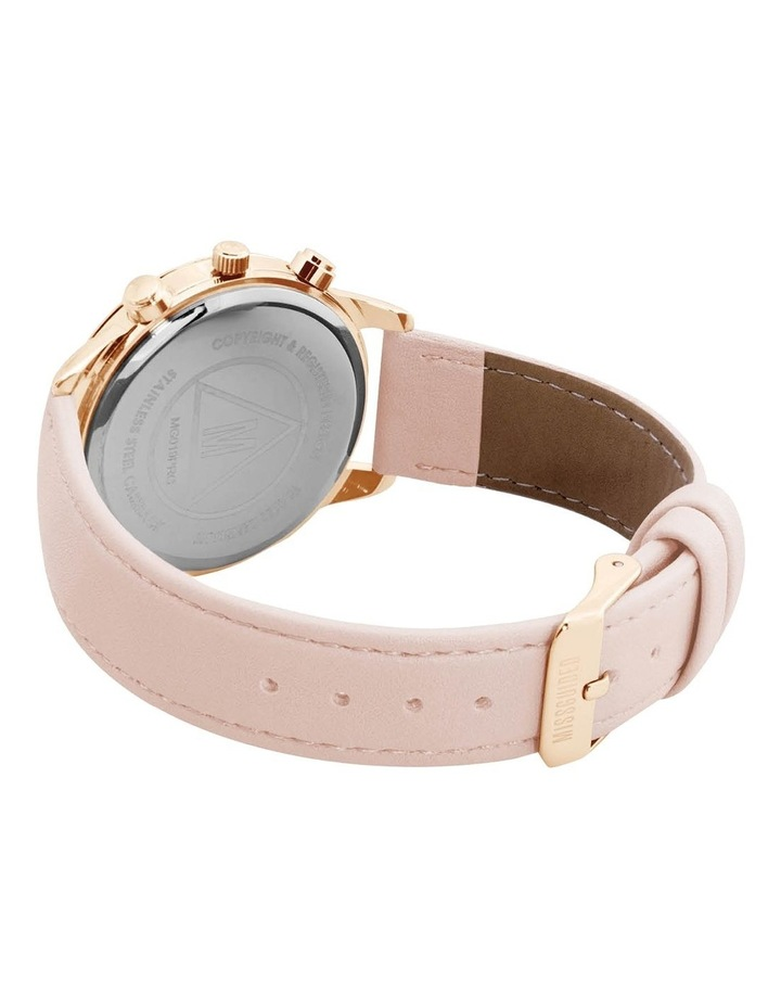 MG019PRG Pink PU Watch image 3