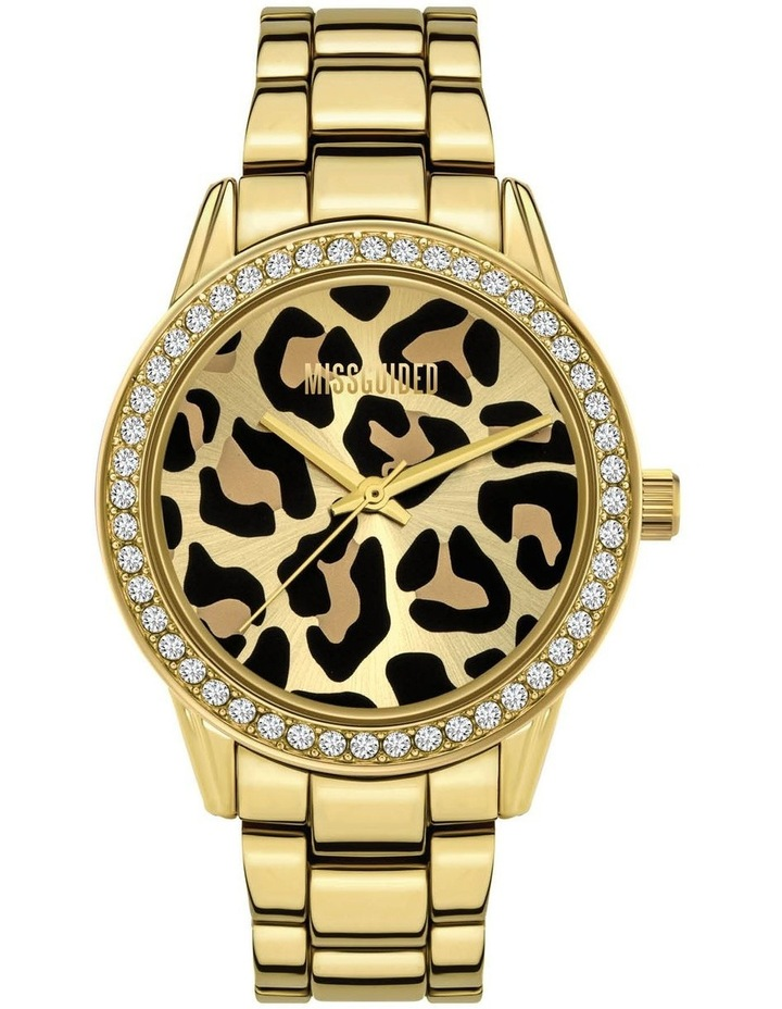 MG039GM Gold Leopard Watch image 1