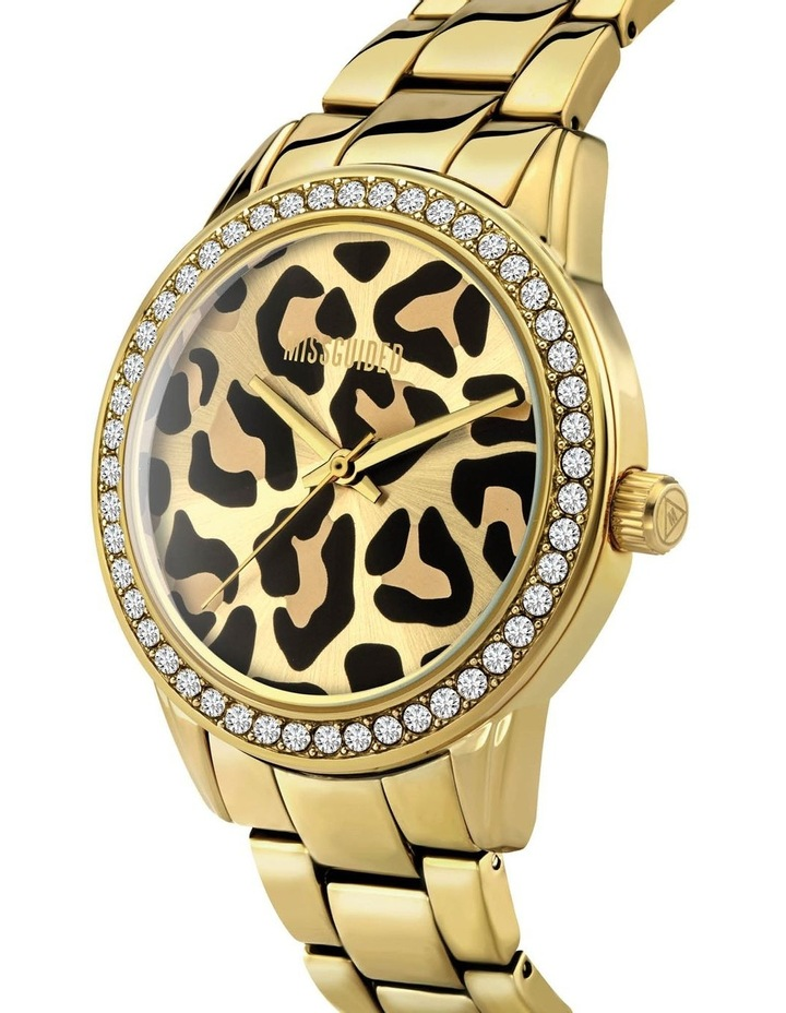 MG039GM Gold Leopard Watch image 2