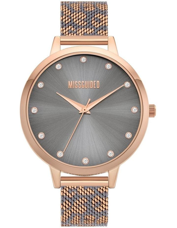 MG041ERGM Rose Gold Leopard Watch image 1