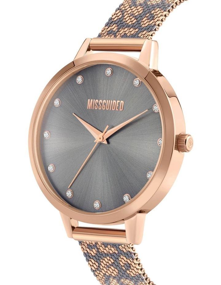 MG041ERGM Rose Gold Leopard Watch image 2