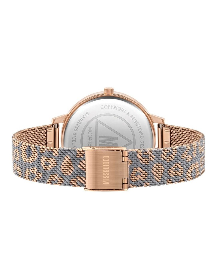MG041ERGM Rose Gold Leopard Watch image 3