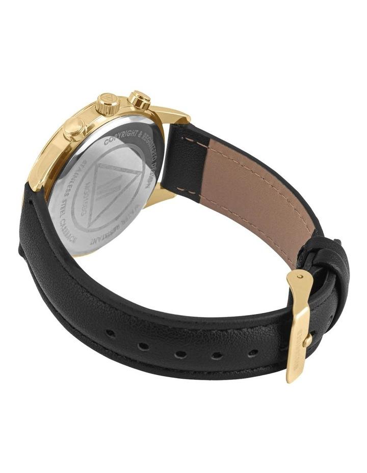 MG015BG Black Multi Stone Watch image 3