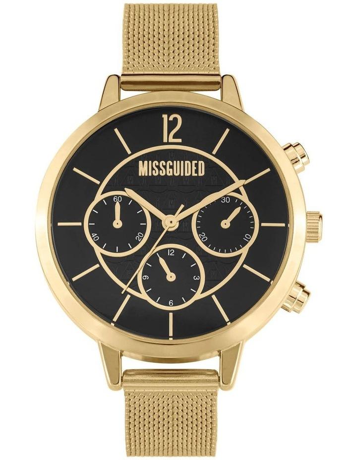 MG029GM Black Gold Mesh Watch image 1
