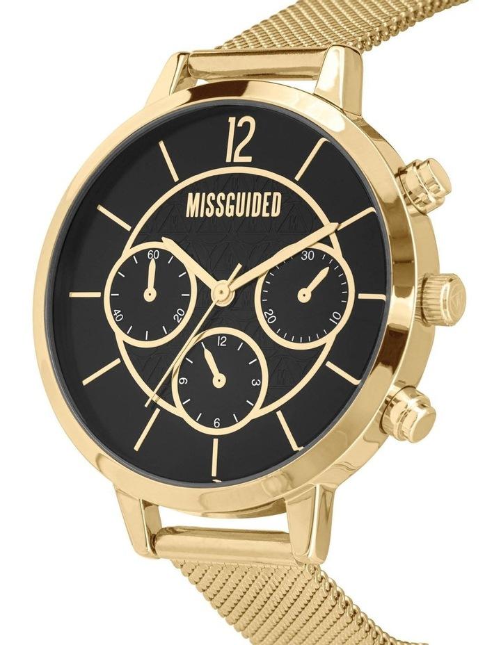 MG029GM Black Gold Mesh Watch image 2