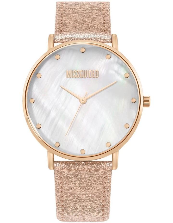 MG014RG Metallic Rose Gold Watch image 1