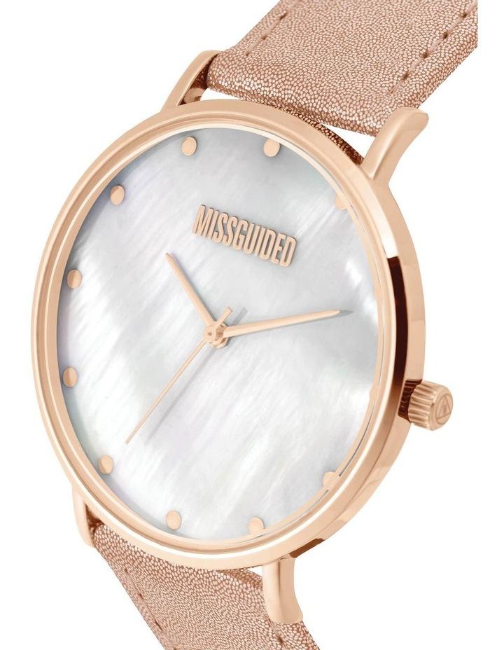 MG014RG Metallic Rose Gold Watch image 2