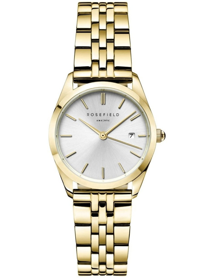 The Ace XS Silver Sunray Steel Gold Watch image 1