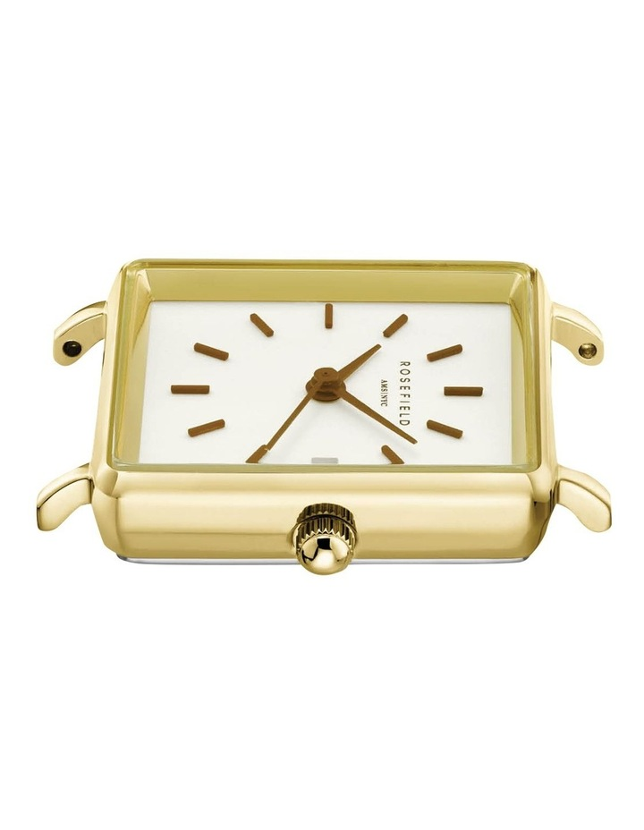 The Mini Boxy Gold Nude Leather Watch image 2