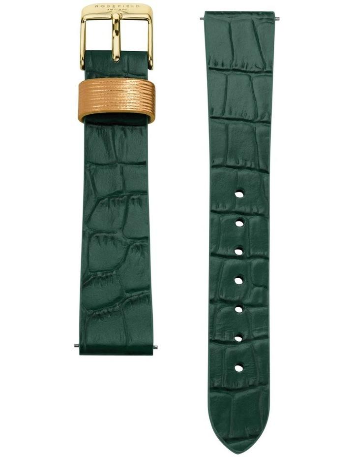 QWGLG-Q046 Boxy Gold Green Croc Leather image 3