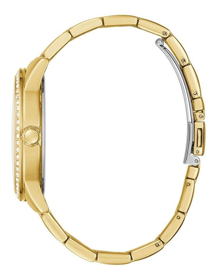 G Check Gold Stainless Steel Analogue Watch image 2