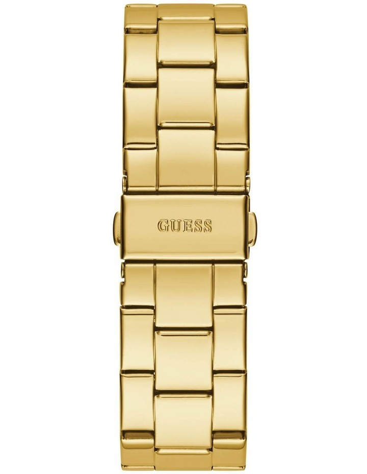G Check Gold Stainless Steel Analogue Watch image 3