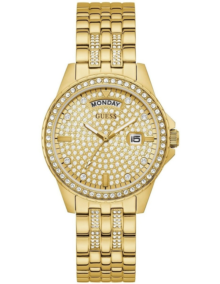 Lady Coment Gold Stainless Steel Analog Watch image 1