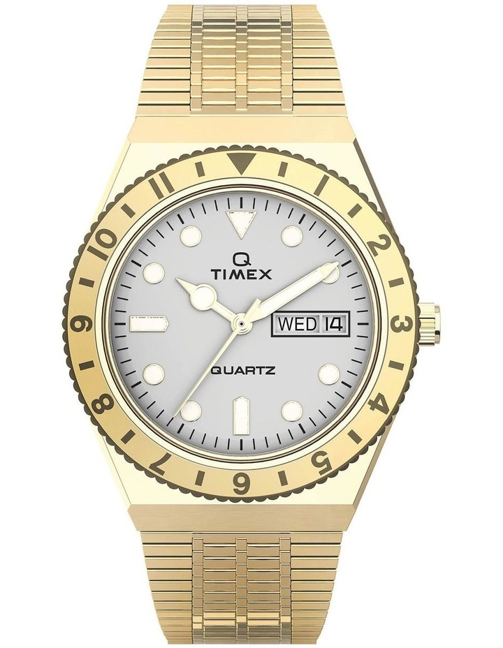 Womens Q Gold Stainless Steel Analog Watch image 1