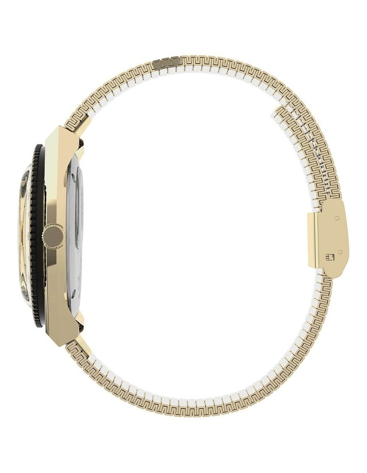 Womens Q Gold Stainless Steel Analog Watch image 2