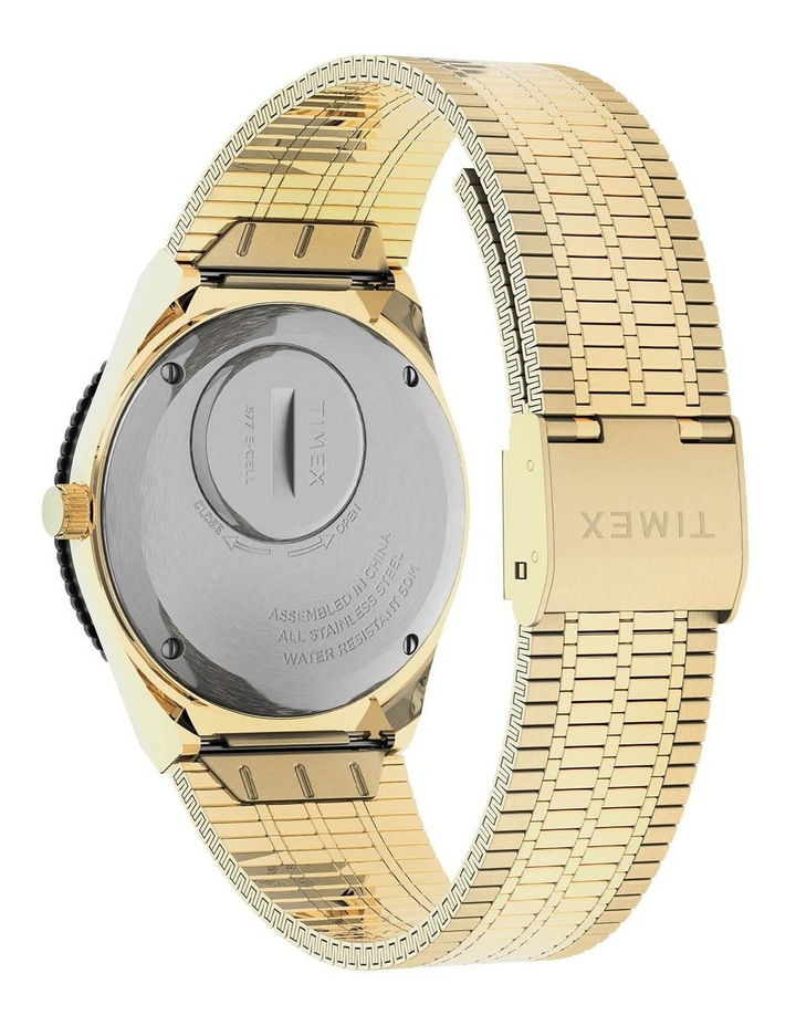 Womens Q Gold Stainless Steel Analog Watch image 4