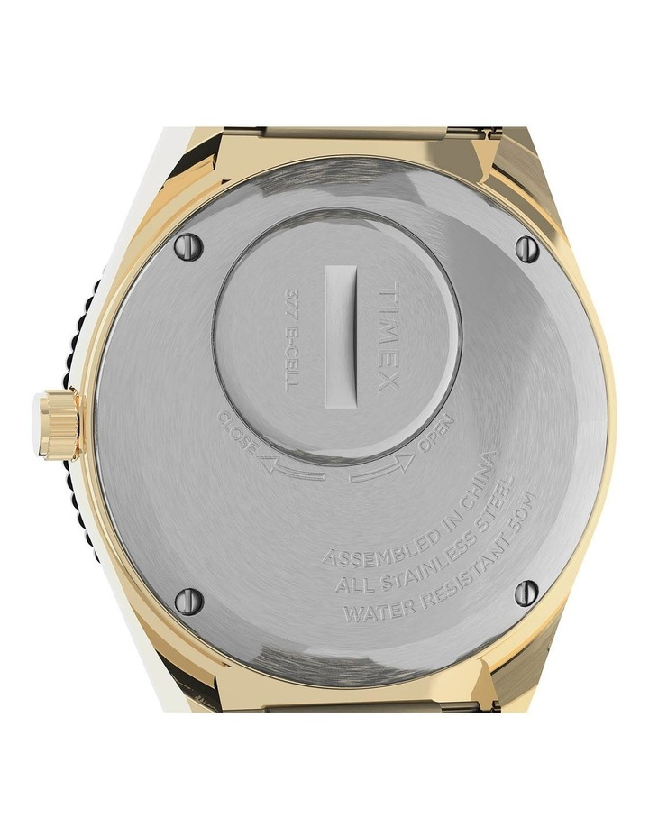 Womens Q Gold Stainless Steel Analog Watch image 5