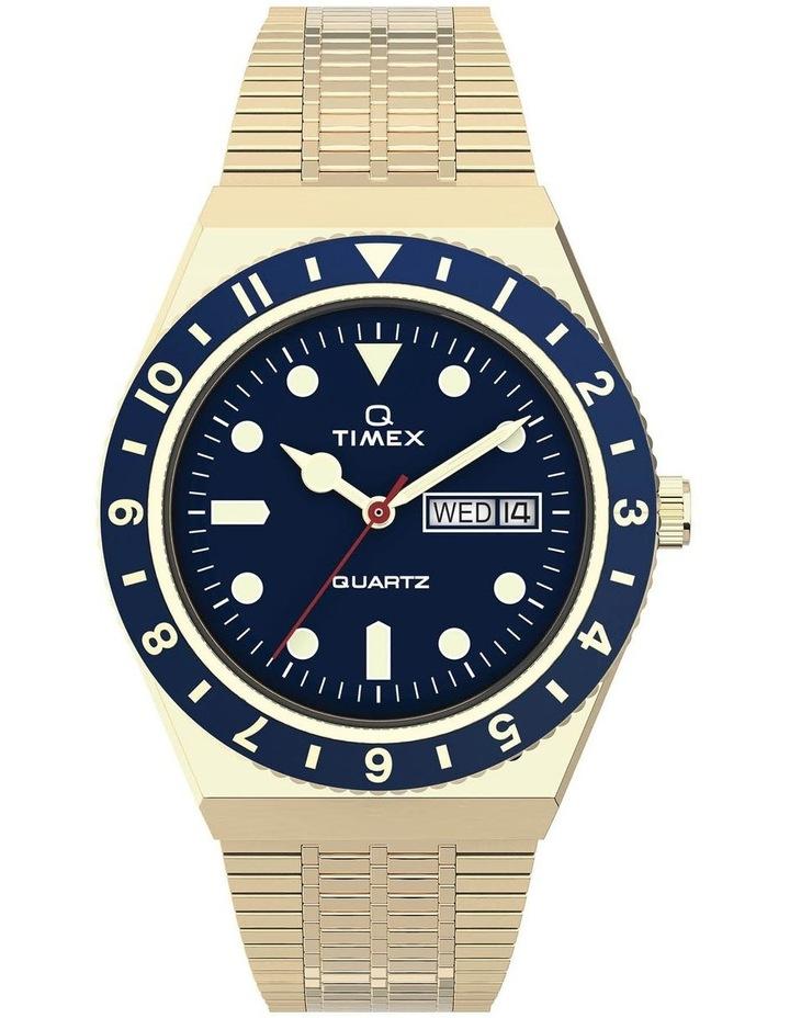 Q Diver Gold Stainless Steel Quartz Watch image 1