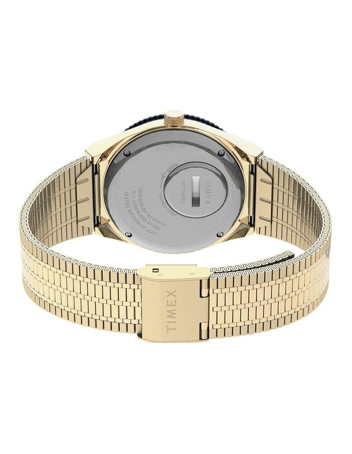 Q Diver Gold Stainless Steel Quartz Watch image 2