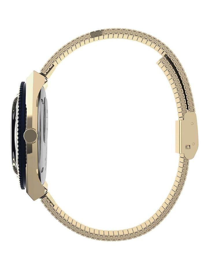 Q Diver Gold Stainless Steel Quartz Watch image 3
