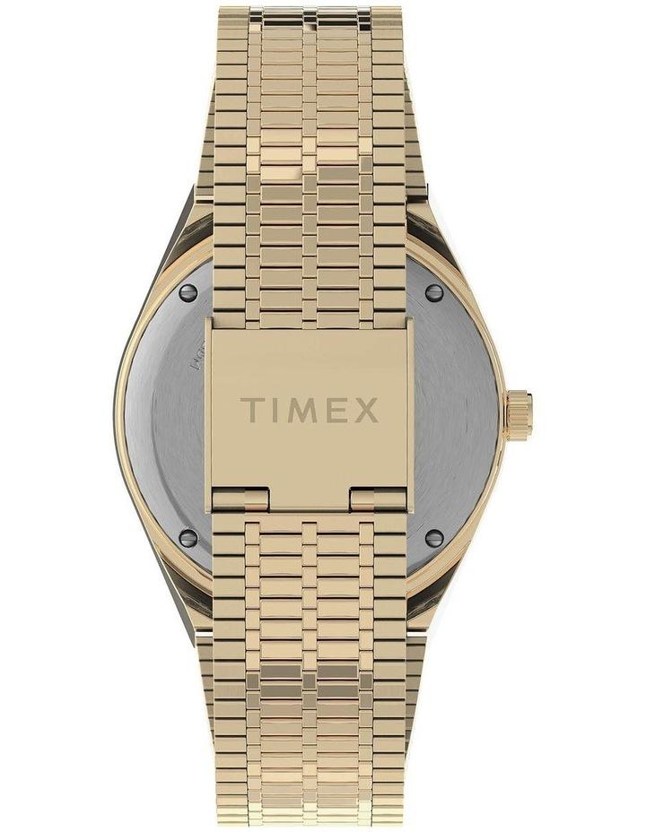 Q Diver Gold Stainless Steel Quartz Watch image 4