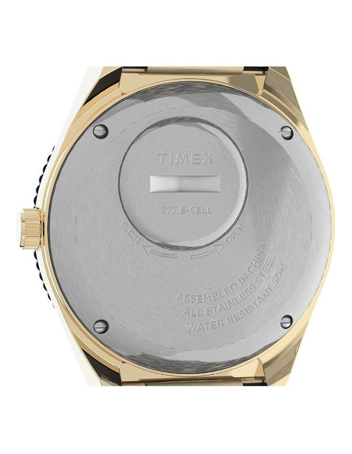 Q Diver Gold Stainless Steel Quartz Watch image 5