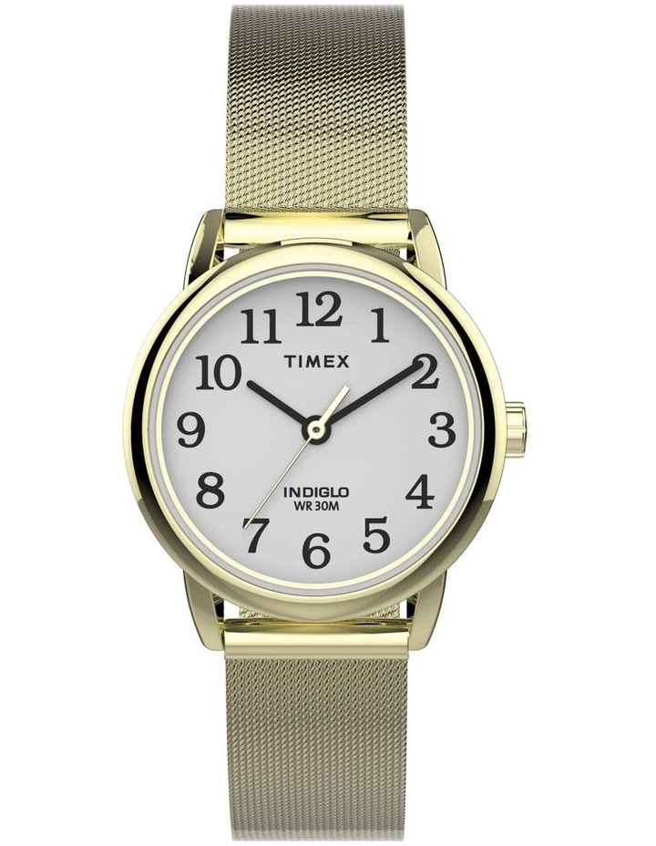 Easy Reader Gold Mesh Stainless Steel Analog Watch image 1