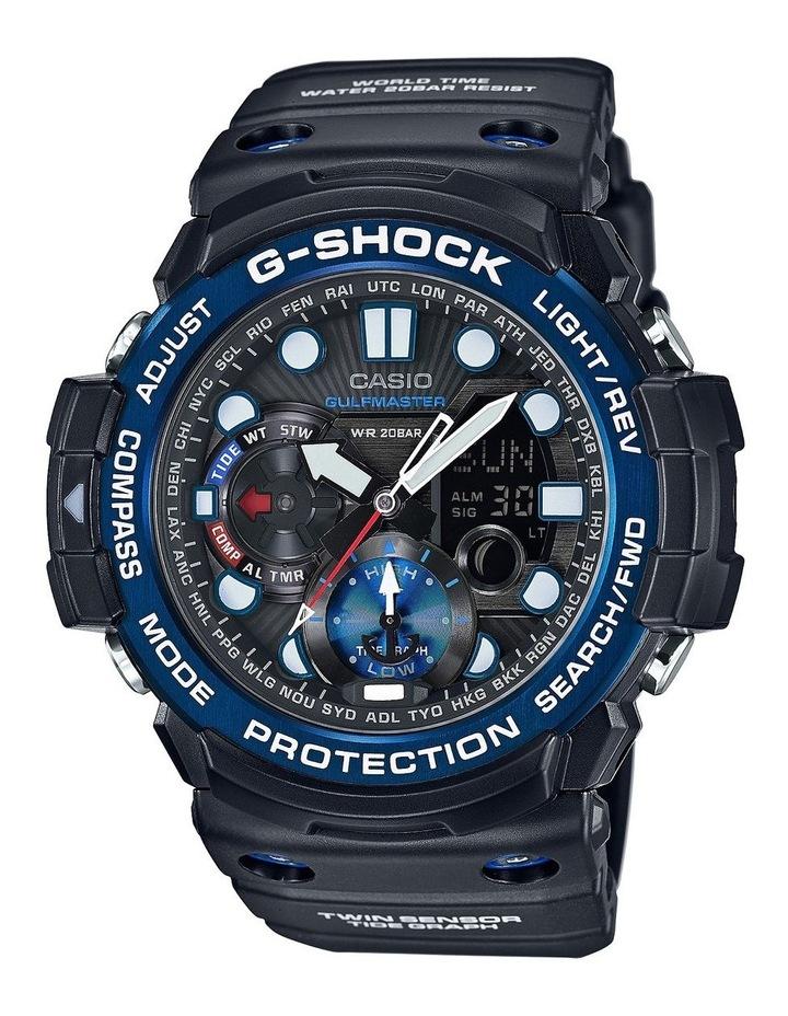 G-Shock Gulfmaster Twin Sensor Series Black And Blue Watch image 1
