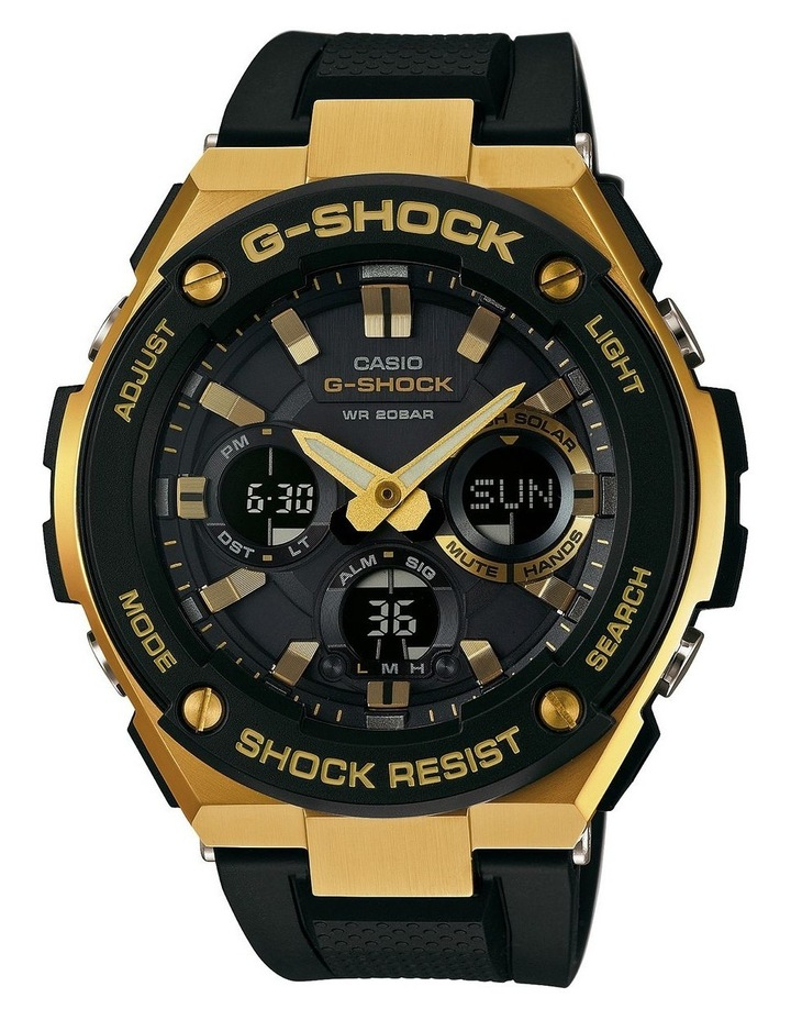 G-Steel Series Black And Gold Watch image 1