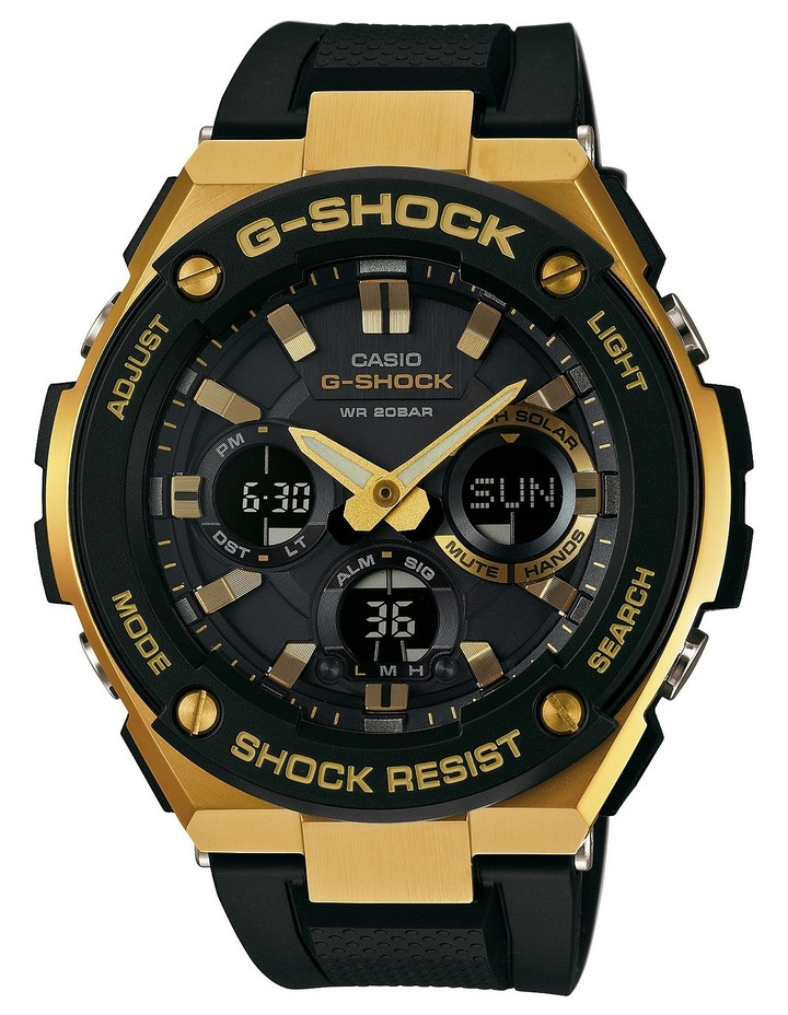 G-Shock G-Steel Series Black And Gold Watch image 1 f583a12cfa30