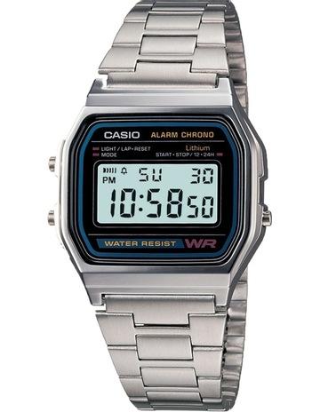 Casio A158WA-1 Casio Silver Watch bdb90678ca5