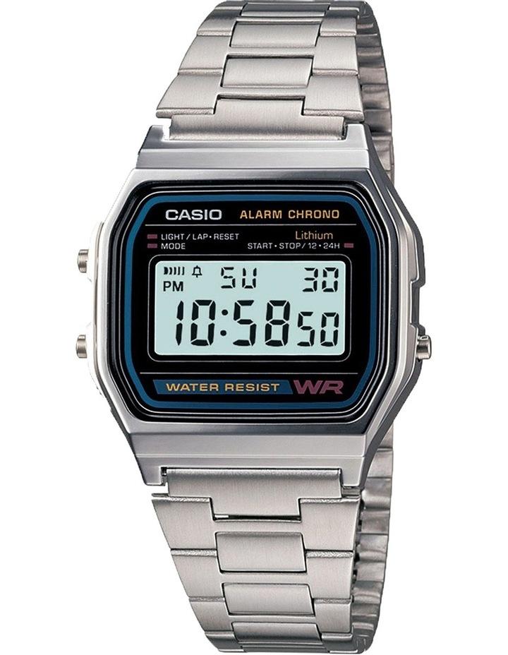 A158WA-1 Casio Silver Watch image 1