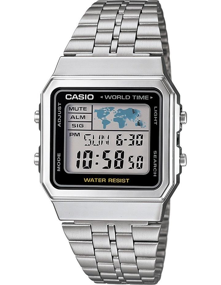 A500WA-1DF Casio Silver Watch image 1