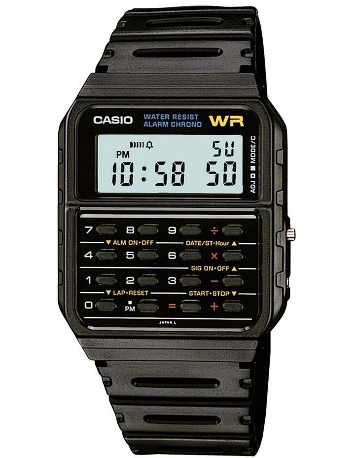 Black Calculator Watch Ca53W-1 image 1