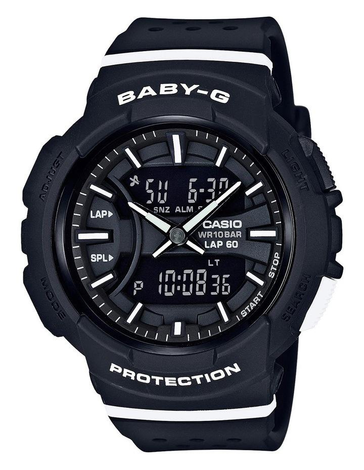 Baby G Duo Lap 60 BGA240-1A1 Black & White Watch image 1