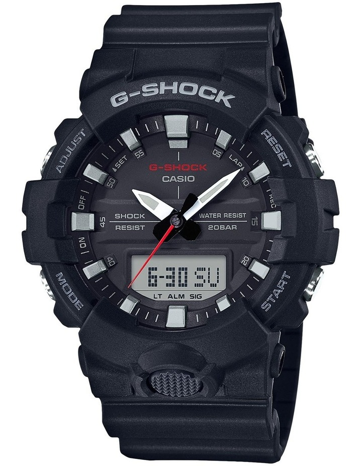 G Shock Duo Mid Size GA800-1A Black Watch image 1
