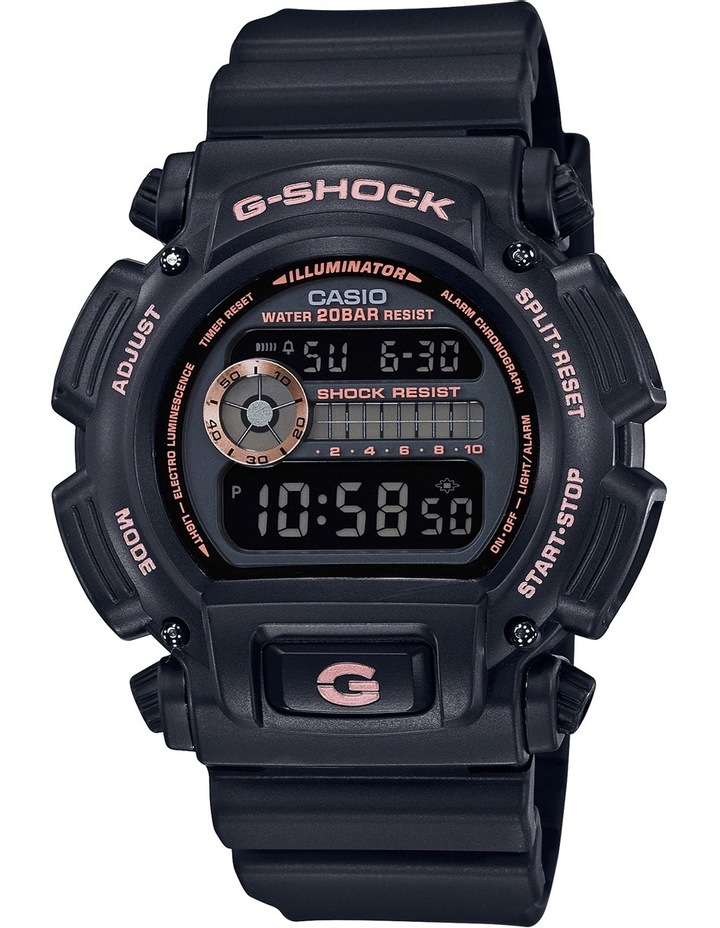 DW9052GBX-1A4 G-Shock Black Watch image 1